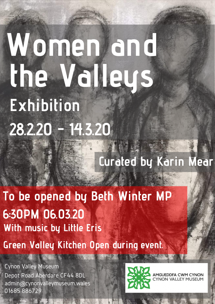 Women and the Valleys Poster - opened by Beth Winter